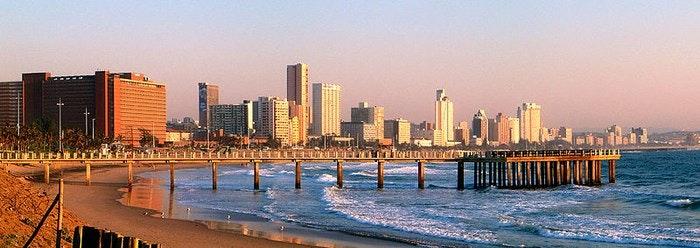 Durban skyline by PhilippN (Creative Commons)