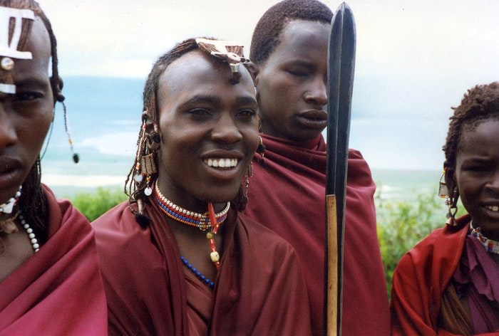 A-group-of-young-Maasai-warriors.-By-kevinzim-Flickr