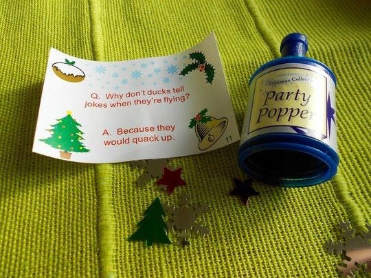 Cracker Jokes by Sally (Flickr)
