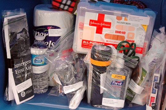 First Aid Kit by komunews (Flickr)