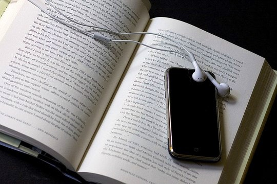 Audio Books by Michael Casey (Flickr)