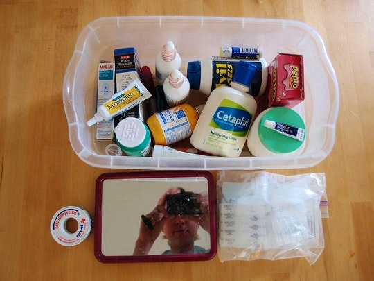 First Aid Kit by Papertygre (Flickr)