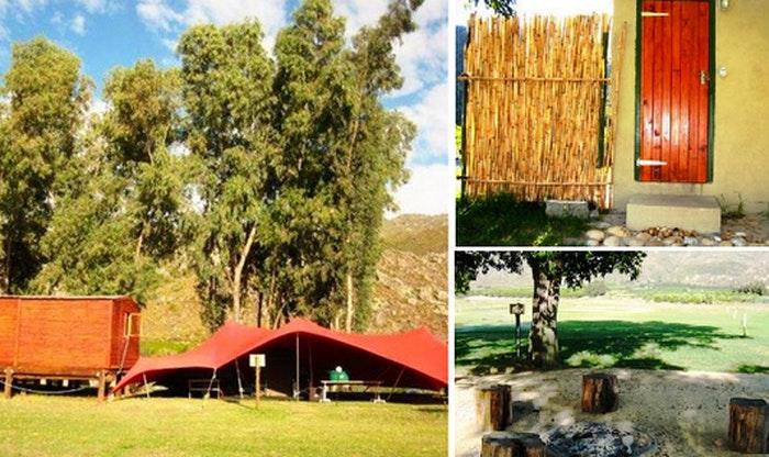 Biesievlak Cottage and Camp (TG)