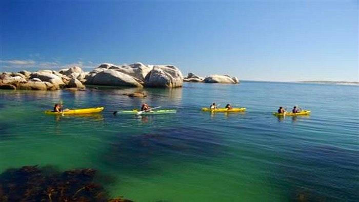 Kayaking in Paternoster