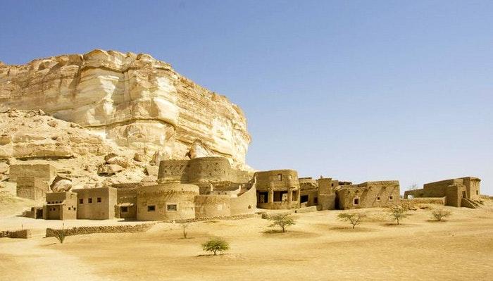 Adrere Amellal Ecolodge, Egypt
