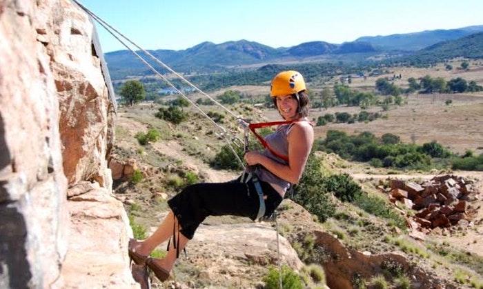 Abseiling is never a bad idea in Mpumalanga