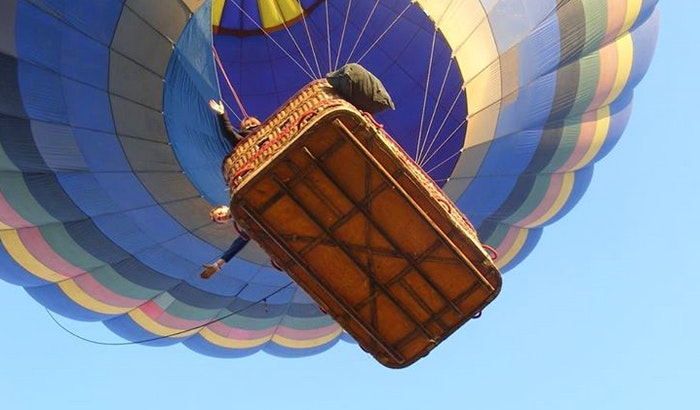 hot air ballooning is a bucket list favourite