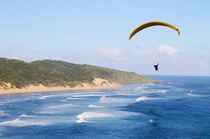 Paragliding, Morgan Bay