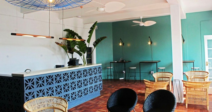 Curiocity Durban offers shared working stations in a cool and eclectic reception area | Photo: TravelGround