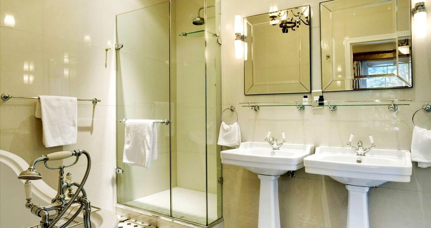 Die luukse badkamer (LekkeSlaap)