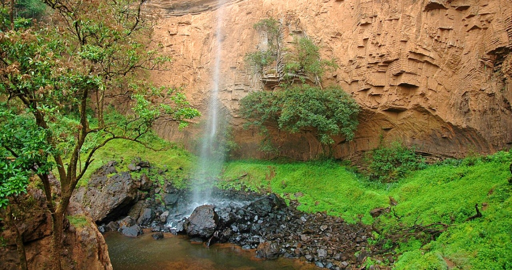 bridal veil falls south africa