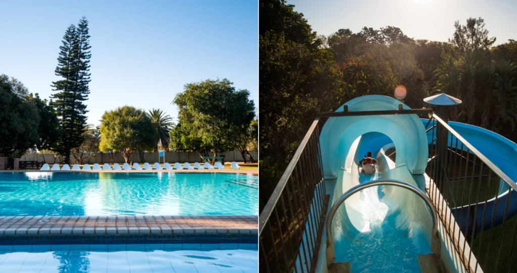 water slide gauteng kid friendly stays