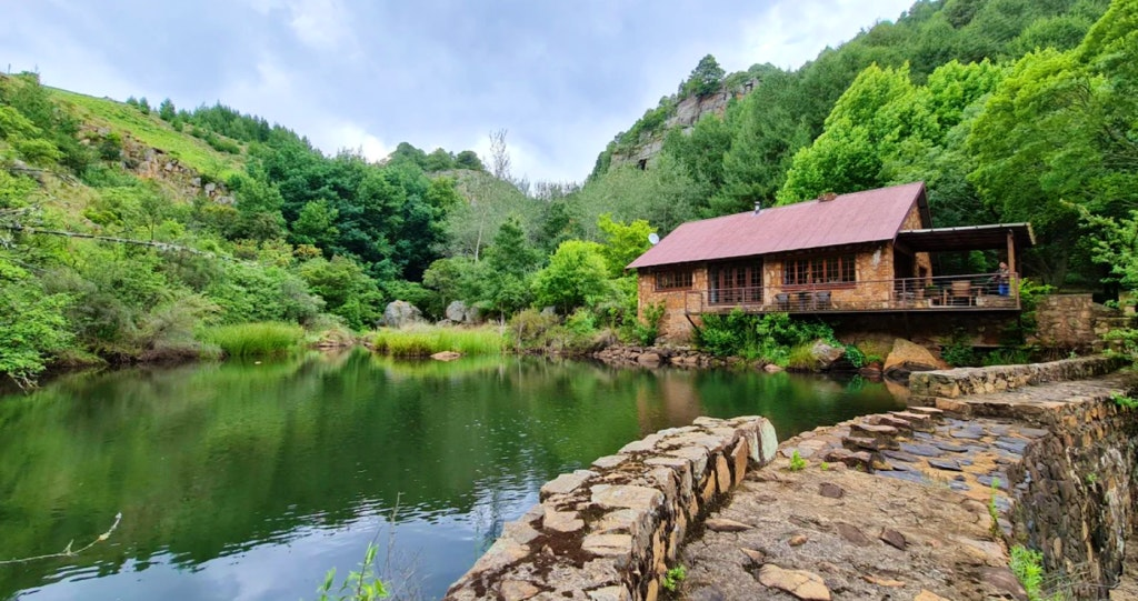 Canyon Cottage visvang fishing Mpumalanga self-catering accommodation selfsorg huis lekkeslaap Dullstroom