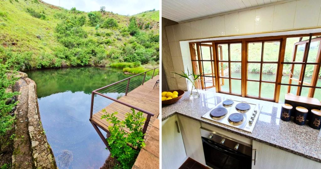 Canyon Cottage fishing river rivier lekkeslaap visvang selfsorg selfcatering accommodation