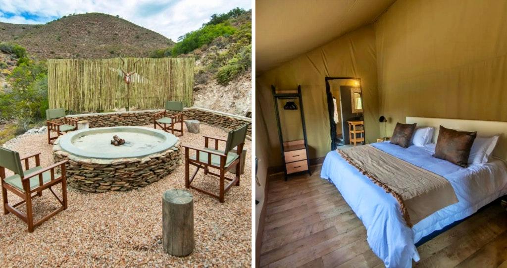 Montagu tented accommodation