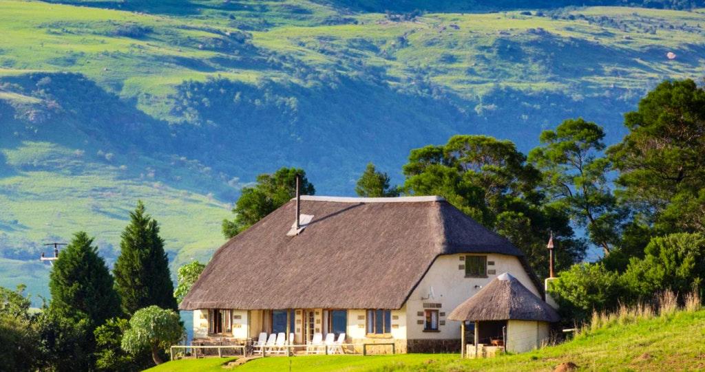 kothuis Drakensberge Amfiteaterberg Royal Natal Nasionale Park