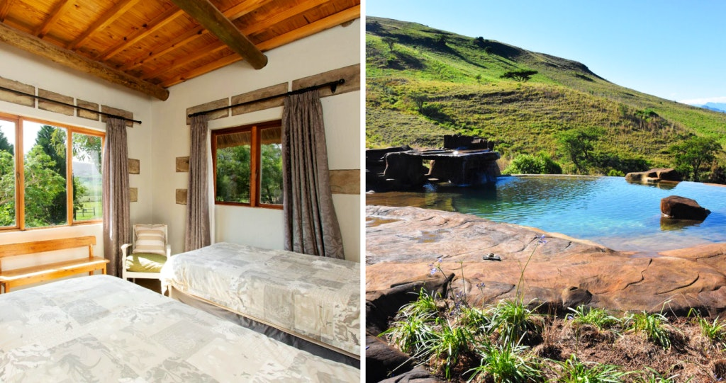 kothuis Drakensberge Amfiteaterberg Royal Natal Nasionale Park selfsorg kaggel