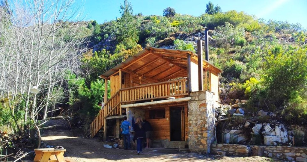 Montagu Route 62 accommodation Wes-Kaap log cabin