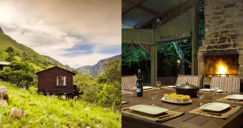 Klipfontein Bushcamp 2 cottage bush self-catering mpumalanga panorama route braai facilities klipfontein lekkeslaap