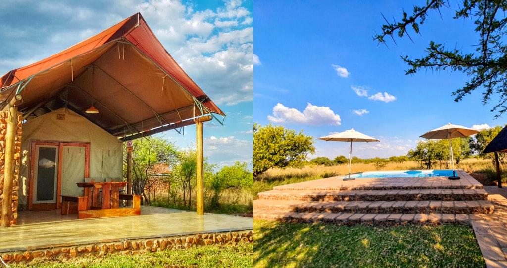 OuKlip Game Lodge 2 dinokeng verblyf accommodation game farm gauteng getaway lekkeslaap braaidag