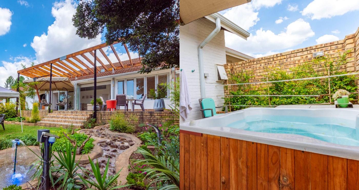 Windsong Living jacuzzi gauteng west rand accommodation krugersdorp