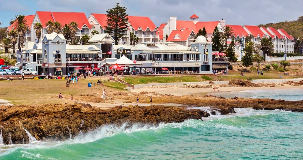 Port Elizabeth, South Africa - Restaurants And Pubs At The Beach
