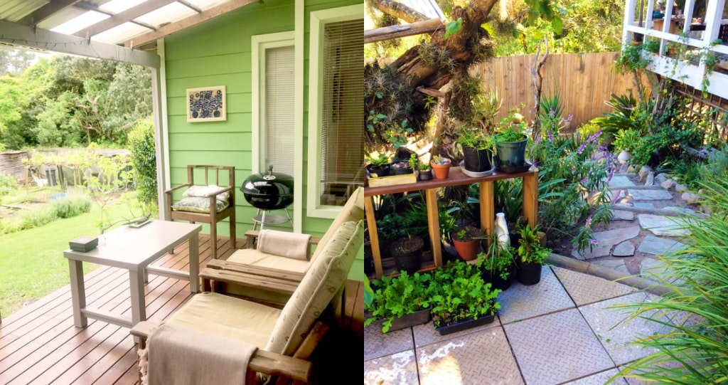 Loeriewood Garden Apartment 2 western cape accommodation weskaap lekkerslaap self catering selfsorg garden