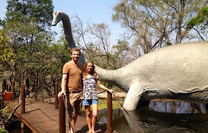 Sudwala dinosaur park (via their Facebook)
