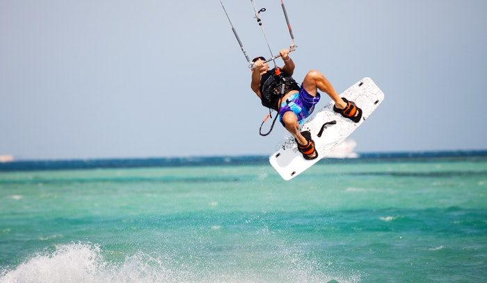 One of the top kitesurfing spots in the world