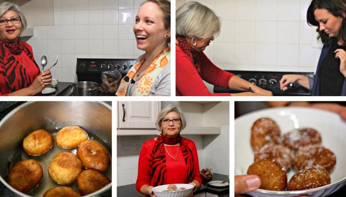 Cooking Cape Malay Koeksisters by Roseanna McBain (C) TravelGround