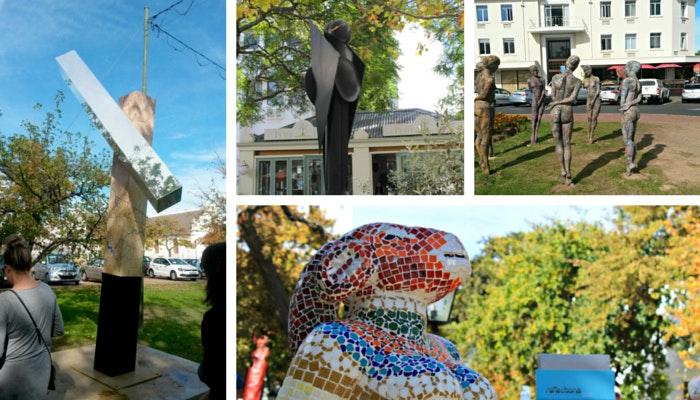 Reflection Statues by Roseanna McBain (C) TravelGround