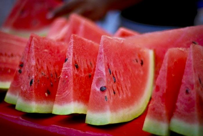 Watermelon slices by mynameisharsha (Flickr)