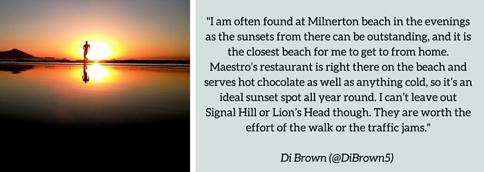 Di Brown: : Summer Sundowner Spot