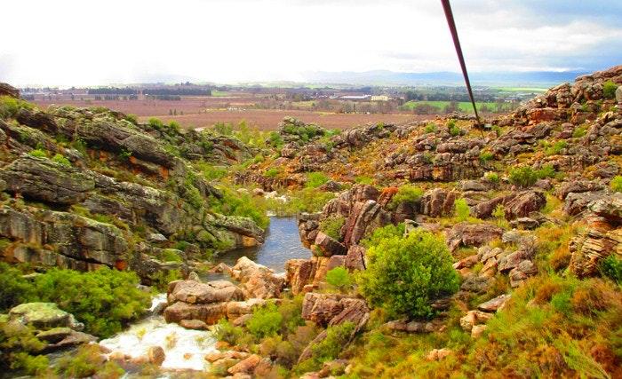 Ziplining in Ceres is a bucket list dream by Lauren Morling